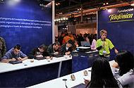 Fundación Telefónica participó en la feria educativa Aula 2009