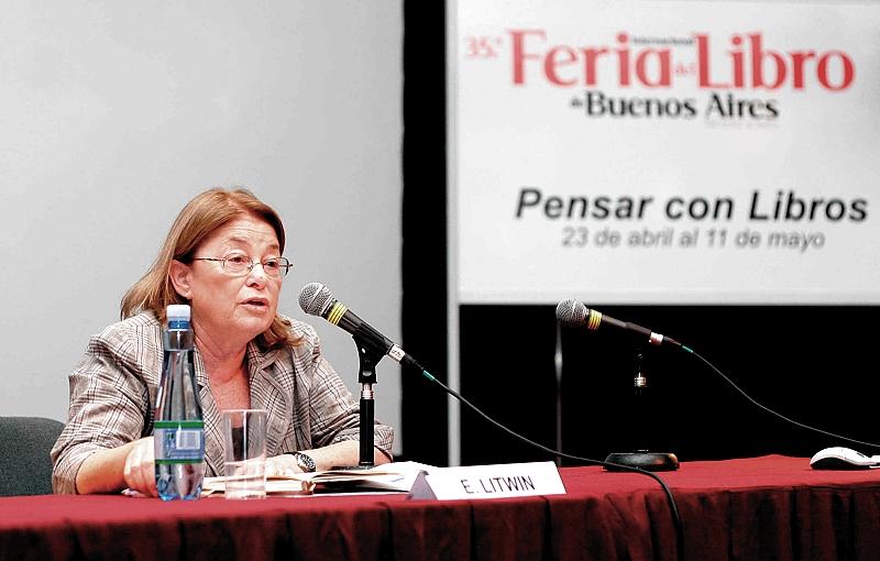 Educared presentó a la especialista en educación y nuevas tecnologías Edith Litwin en la feria del libro de Buenos Aires