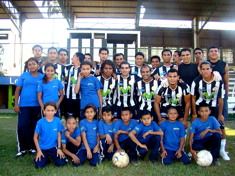 La iniciativa social del Diriangén F.C. es pionera entre los equipos locales, pues es la primera ocasión que un club de fútbol luce el logotipo de un programa social, como muestra de apoyo y solidaridad.