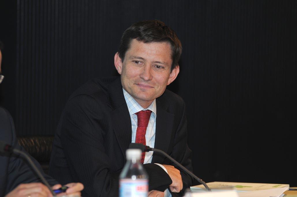 Roberto Suárez, miembro del Consejo Estatal de RSC en representación de CEOE