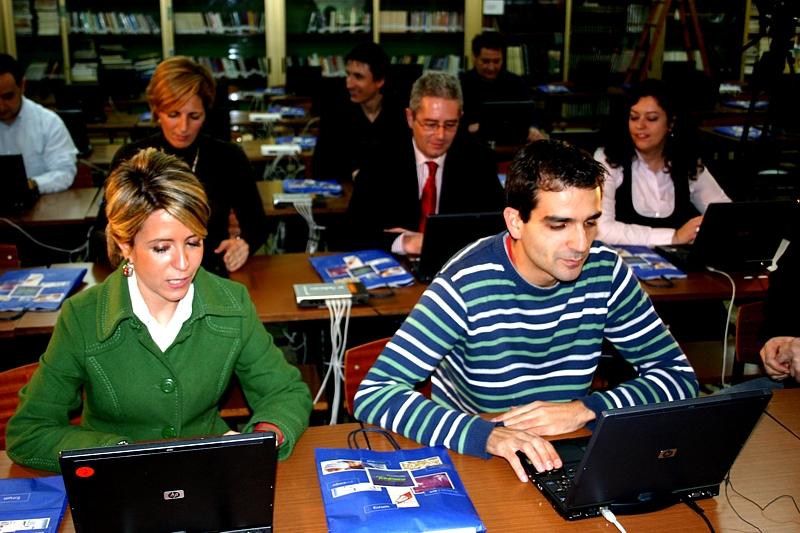 Semana Educared en Santiago de Compostela (Diciembre, 2008)