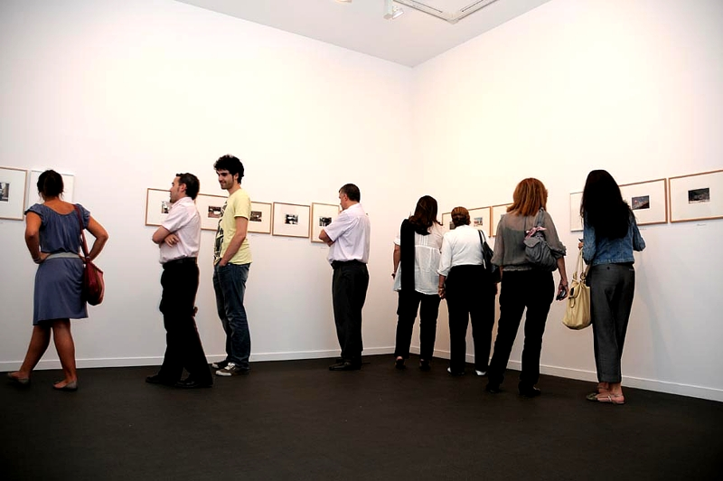 Imagen de la sala de exposiciones.