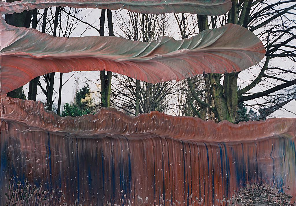 "Gerhard Richter. 8. Sept. 04. Colección privada, Alemania. Publicada en el libro ""Gerhard Richter. Overpainted Photographs"" Hatje Cantz Verlag, Ostfildern 2008"