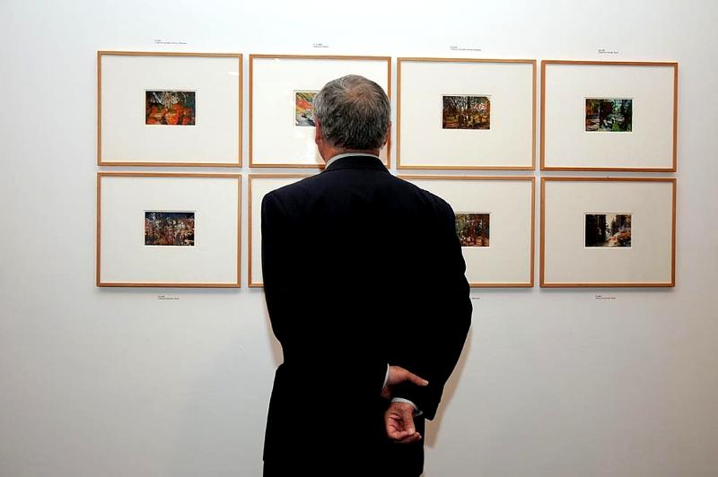 Los más de 400 trabajos expuestos, algunos de ellos se exhiben por primera vez.