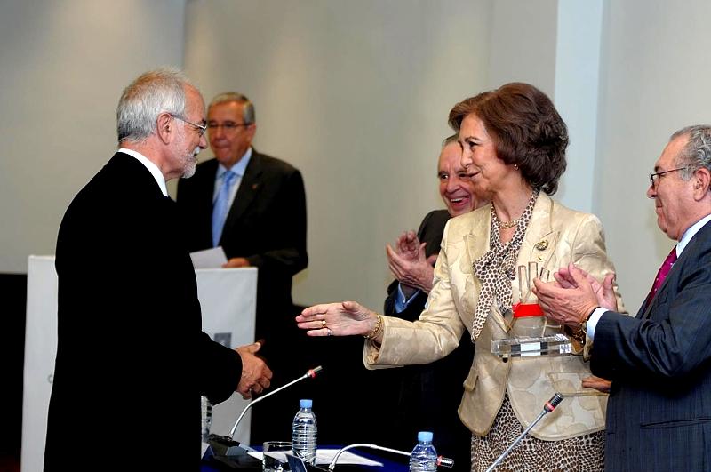 El premio concedido a Fundación Telefónica fue recogido por Javier Nadal, Vicepresidente Ejecutivo de Fundación Telefónica.