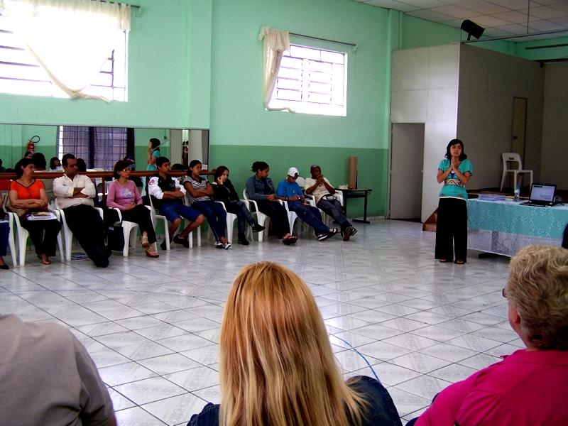 El Programa Proniño (Promenino) de Fundación Telefónica también desarrolla su actividad en Itaquaquecetuba.