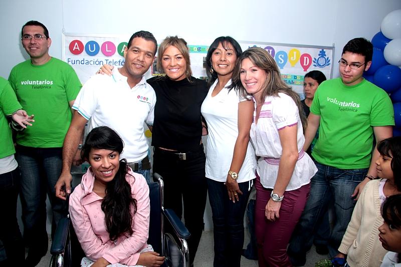 Actualmente están en funcionamiento cinco Aulas Fundación Telefónica en Hospitales, de las cuales tres se encuentran en Caracas