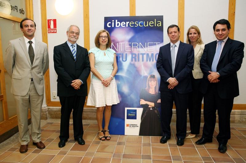 Telefónica, a través de su Fundacion, se alía con el Gobierno de Aragón para impulsar el uso de Internet