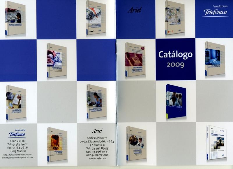Los libros de la Colección Fundación Telefónica, expuestos en los escaparates de Casa del Libro