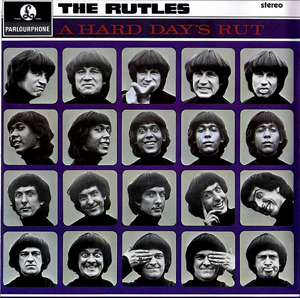 """The Rutles"" de Eric Idle y Gary Weis / Año 1978.  The Rutles es la historia de una banda de rock británico que se convierten en leyendas del rock and roll. Esta película es una parodia de los documentales de música rock, basada en la historia de un grupo en particular: The Beatles"