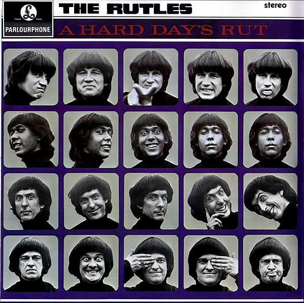 """""""The Rutles"""" de Eric Idle y Gary Weis / Año 1978.  The Rutles es la historia de una banda de rock británico que se convierten en leyendas del rock and roll. Esta película es una parodia de los documentales de música rock, basada en la historia de un grupo en particular: The Beatles"""