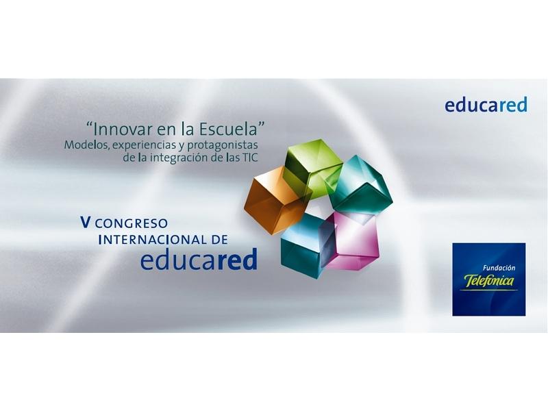 El V Congreso Internacional de Educared, organizado por Fundación Telefónica, ya ha comenzado en Internet