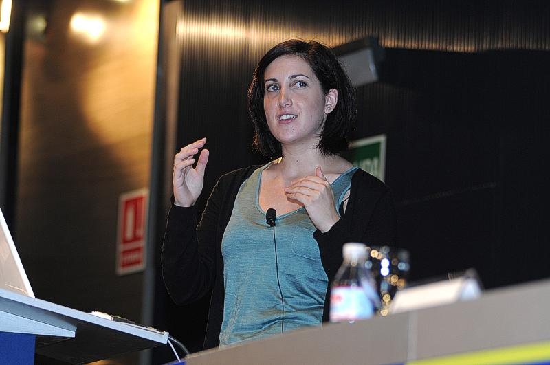 Rahaf Harfoush, miembro del equipo organizador de la campaña de comunicación de nuevas tecnologías de Obama