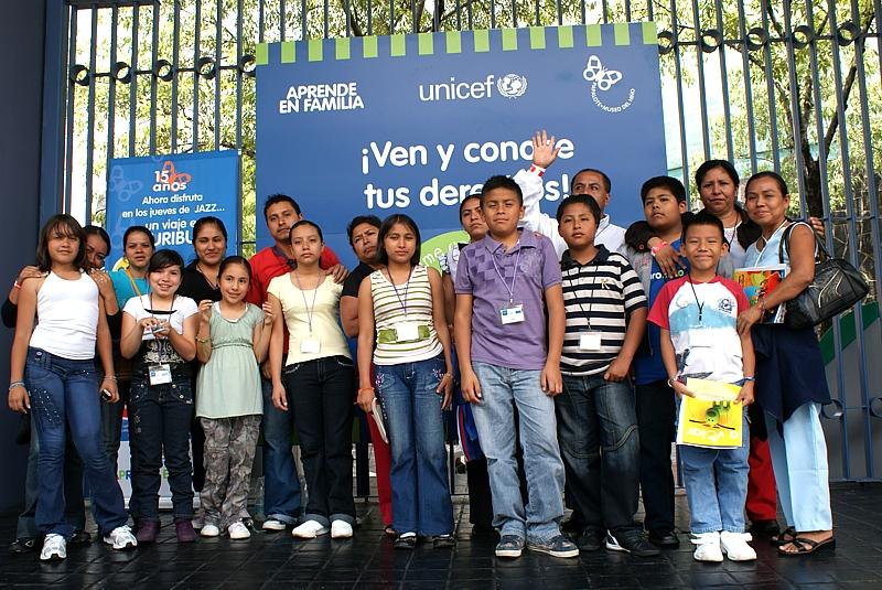 En esta primera edición de Talento Proniño, nueve niños provenientes de los Estados de Oaxaca, Guadalajara, Chiapas y Distrito Federal junto con un acompañante, se conocieron, relacionaron, compartieron experiencias personales y platicaron sobre sus lugares de origen