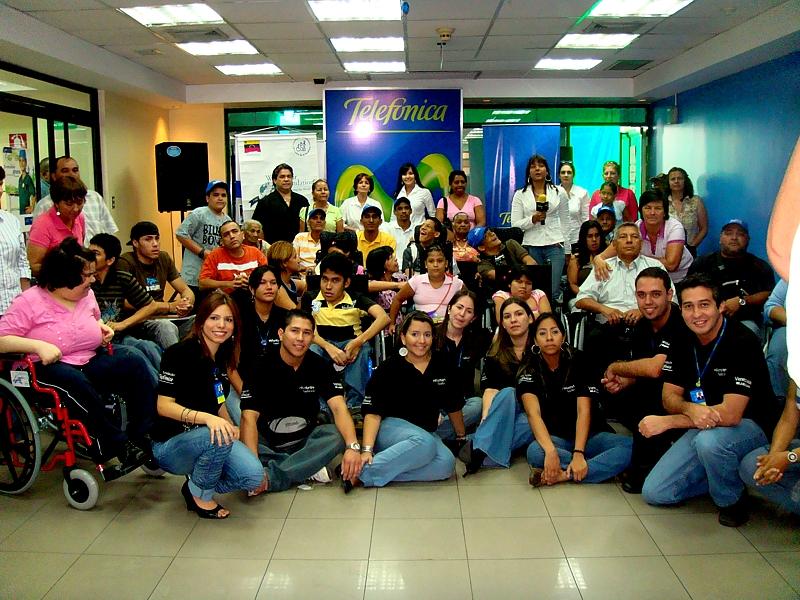 Fundación Telefónica y Fundaprocura cumplen diez años poniendo a rodar nuevas esperanzas por Venezuela