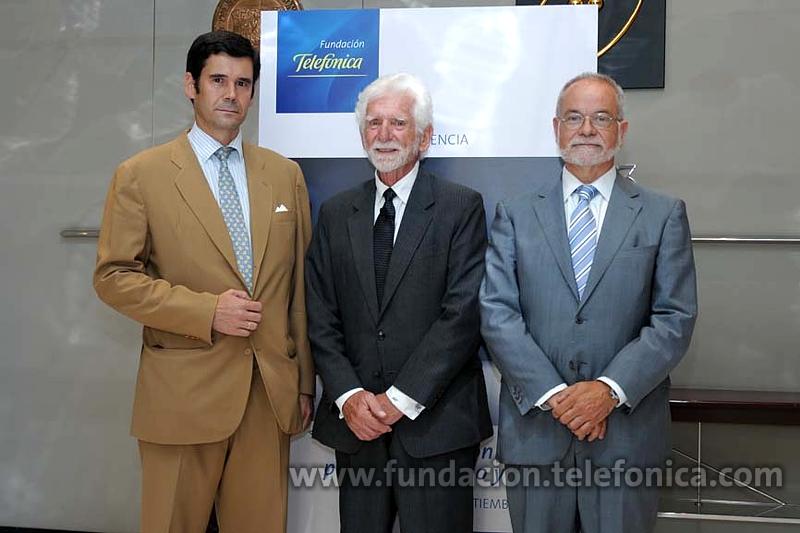 De izquierda a derecha; Jose María Sanz-Magallón, Responsable de la Oficina de Telefónica en Estados Unidos