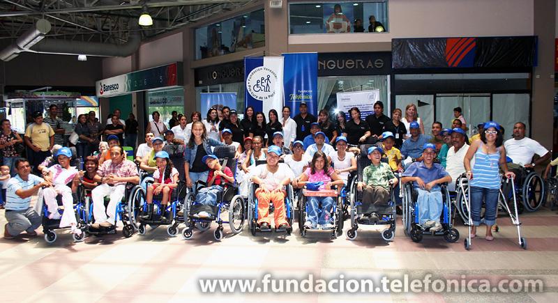 De manera ininterrumpida, desde 1999, Fundación Telefónica conjuntamente con la Fundación Venezolana Pro-Cura de la Parálisis, llevan adelante el  programa