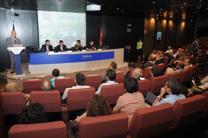 Imagen de la Sala durante el evento
