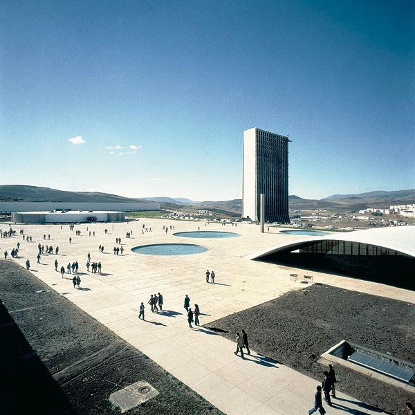Universidade de Constantine – Argel – Argélia. Foto Michel Moch.