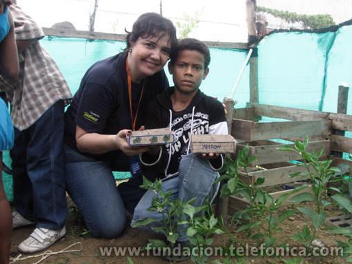 En Colombia, sembraron árboles y construyeron huertas en seis ciudades del país.