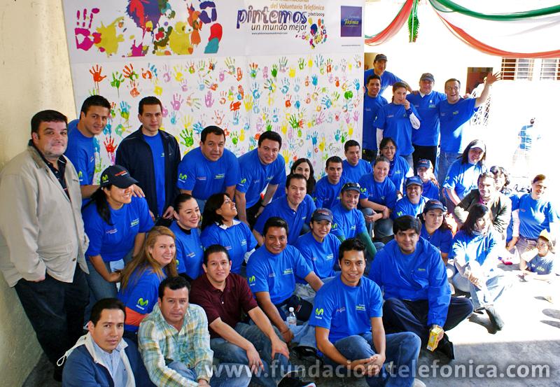 Celebración del Día Internacional del Voluntario 2009 en México