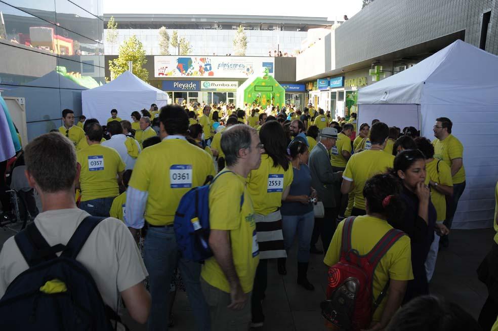 En total, cerca de 10.000 voluntarios, familiares y amigos, participaron en el Día  Internacional del Voluntario Telefónic