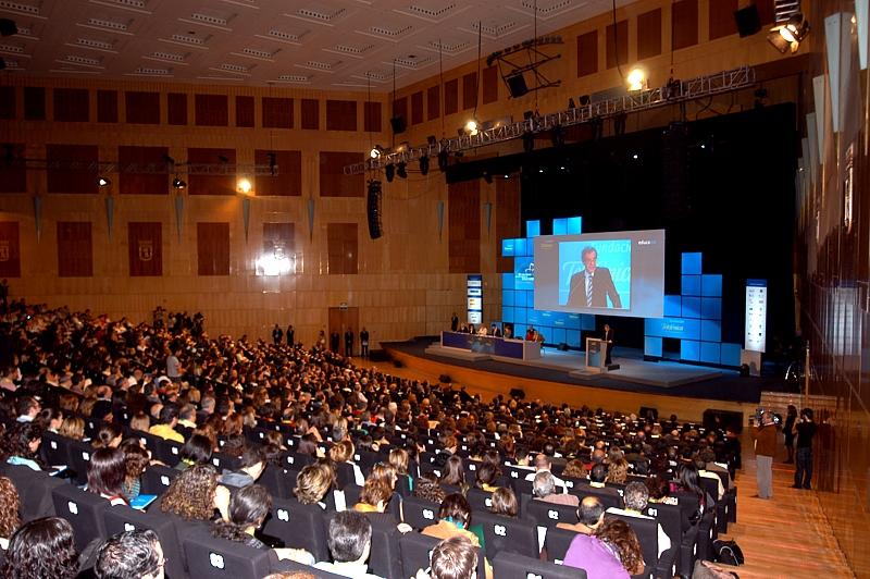 Imagen del IV Congreso Internacional de Educared , celebrado en Noviembre de 2007