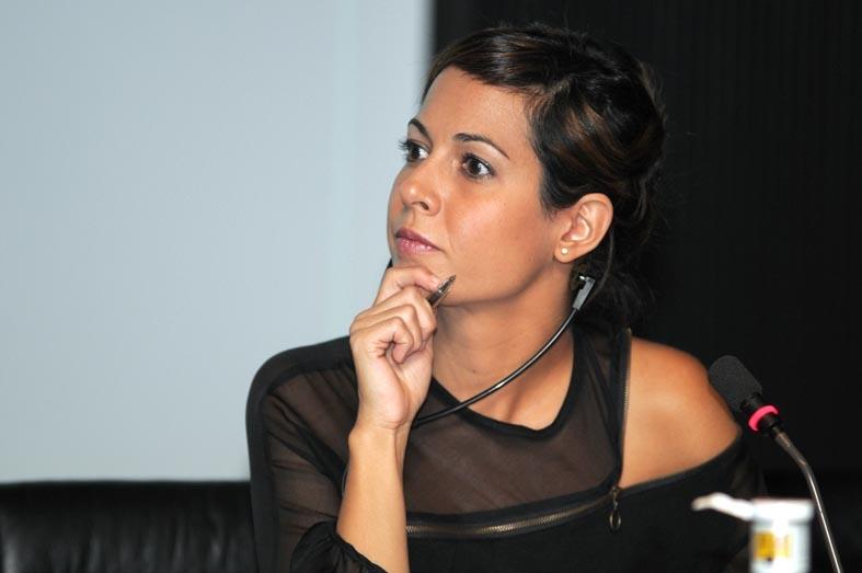 Mara, Torres, moderadora de Los Debates Abiertos de Fundación Telefónica