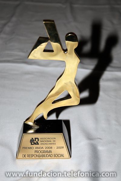Fundación Telefónica recibió el premio ANDA al mejor programa de Responsabilidad Social en Venezuela.