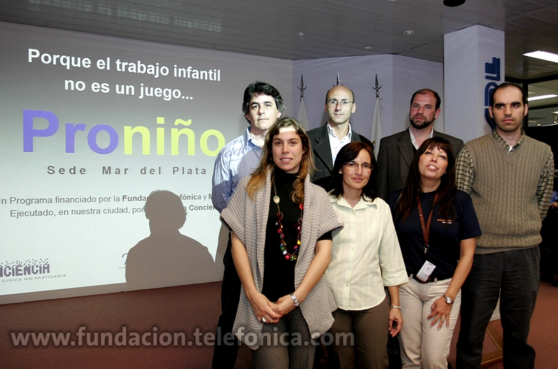 Fundación Telefónica organizo una jornada de capacitación sobre el derecho a la educación en Mar del Plata