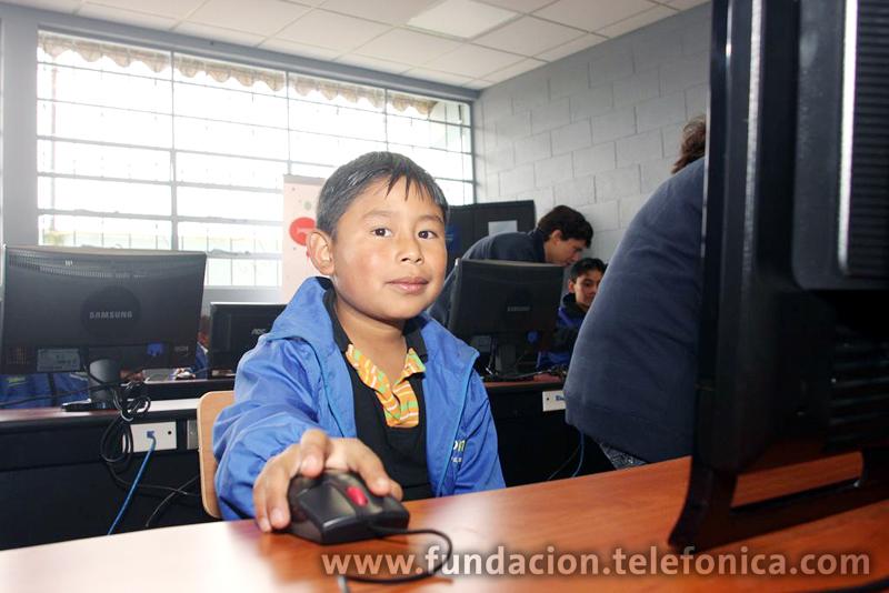 Permitirá mejorar la calidad educativa de más de 535 niños de la escuela, maestros y   padres de familia.