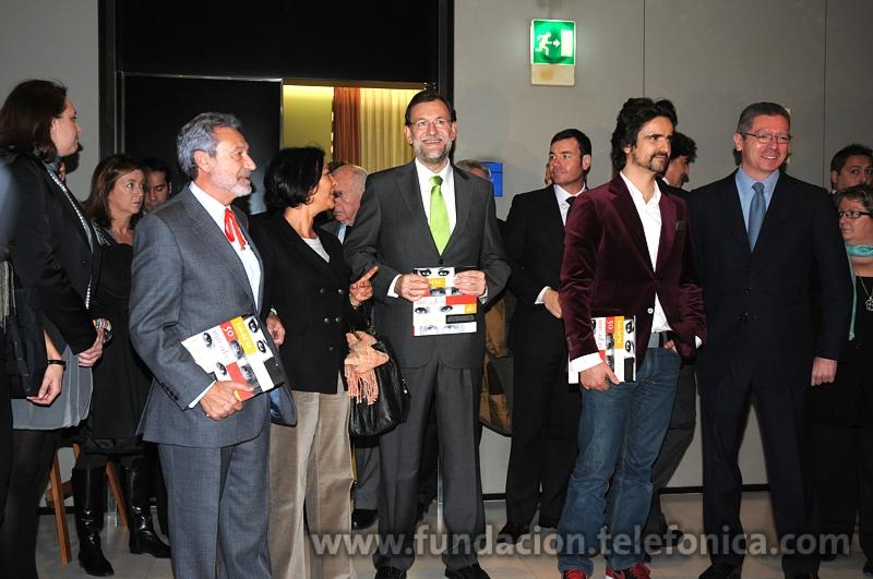 Al acto también asistió Mariano Rajoy, Presidente del Partido Popular.