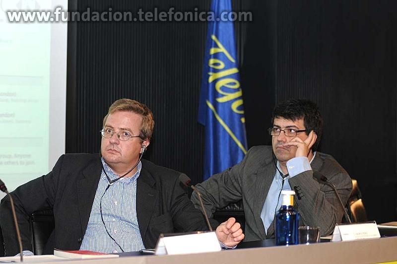 De izquierda a derecha Andrés Pérez y Genis Roca