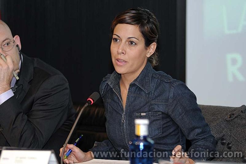 Mara Torres, moderadora de Los Debates Abiertos de Fundación Telefónica