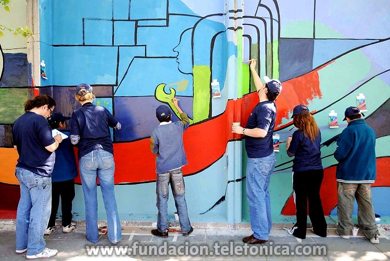 Día Internacional del Voluntariado. En la imagen:  celebración del Día Internacional del Voluntariado en Argentina.