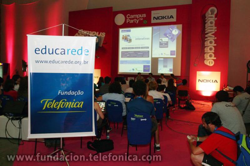 Fundación Telefónica presenta herramientas pedagógicas durante la Campus Party 2010