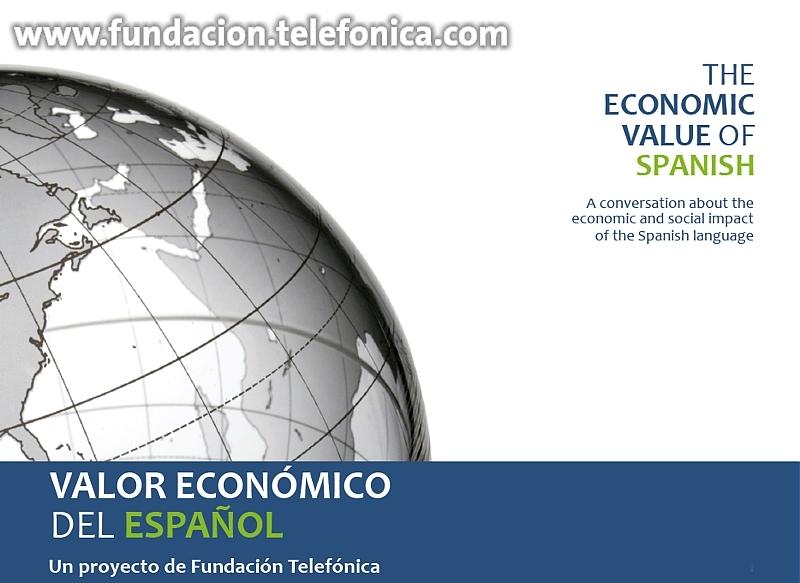"""Portada del libro """"El Valor Económico del Español"""