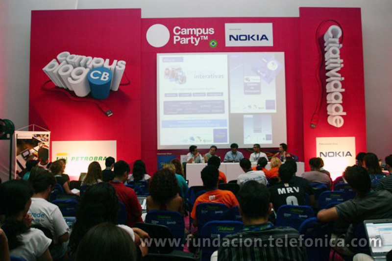 Fundación Telefónica acredita REDECA en el Portal de Software Público durante la Campus Party 2010