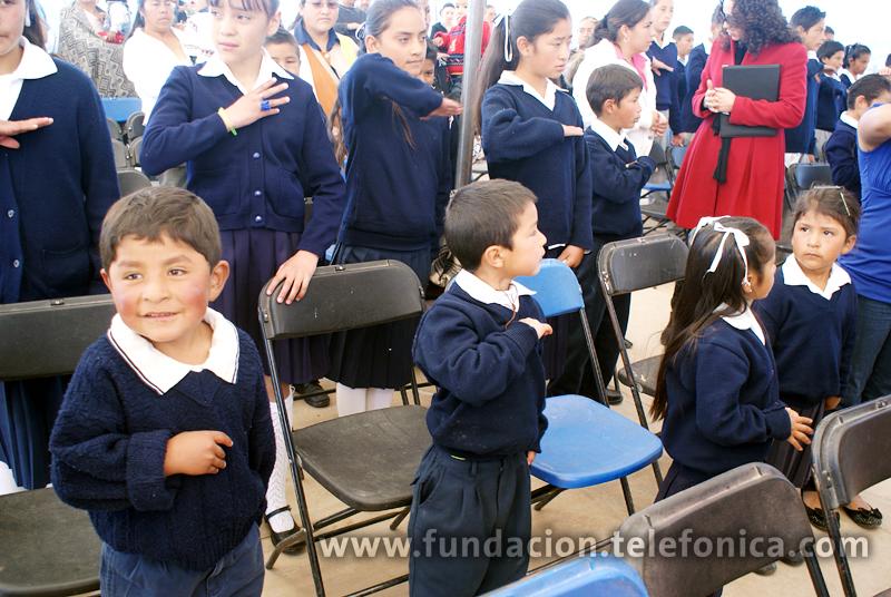 El Aula Tecnológica Bicentenario atenderá a alumnos de nivel básico de Amealco, Querétaro.