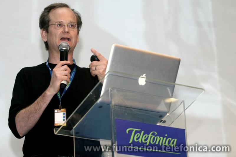 Lawrence Lessig hablará en el Momento Telefónica, el dia 29, a las 19:00 horas.