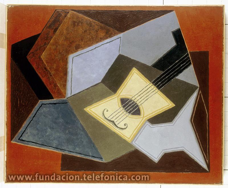 Juan Gris. Guitare et compotier. © Colección Cubista Telefónica.