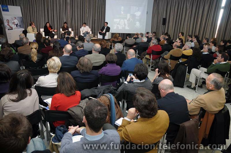 """En el marco de """"Los debates abiertos de Fundación Telefónica"""", ciclo de conferencias sobre el impacto de las TIC en la sociedad"""
