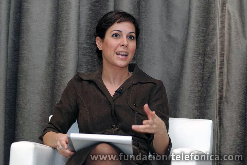 Mara Torres, periodista y moderadora