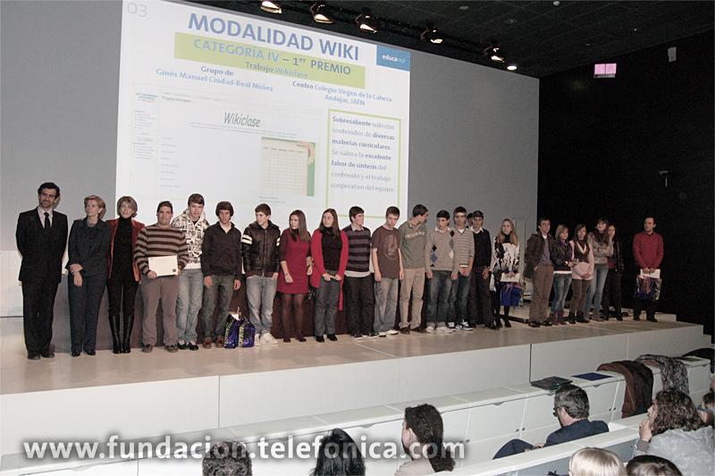 Fundación Telefónica convoca el Certamen Internacional EducaRed, una iniciativa orientada a fomentar el trabajo en equipo y el uso de las Tecnologías de la Información y las Comunicaciones en el aula