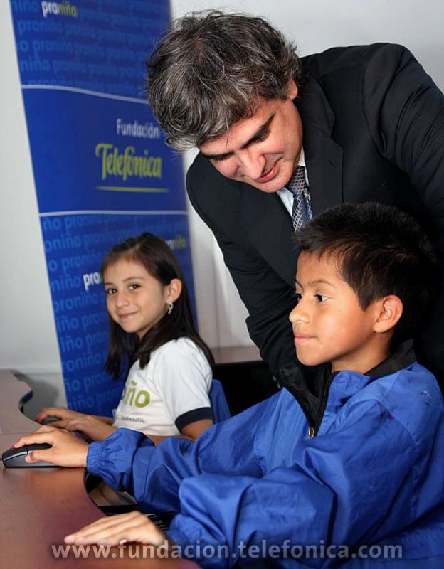 En el 2010 Fundación Telefónica a través de su Programa Proniño duplicará su ayuda para becar a más de 23,000 niñas, niños  y adolescentes de todo el país