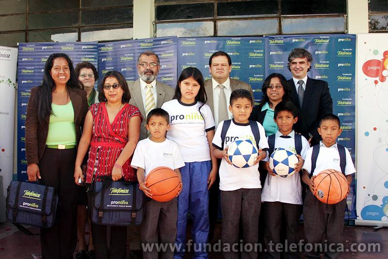 Durante el 2009 Proniño ayudó a más de 12,500 niños y niñas de 11 departamentos de la República de Guatemala, en el 2010 este apoyo se duplicará para beneficiar a 23,000 niños trabajadores