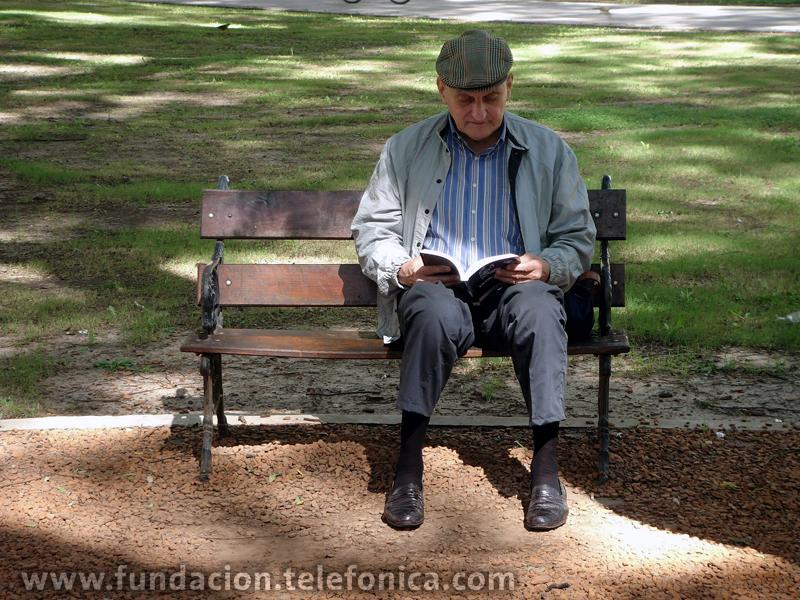 """Diálogos (en el banco de una plaza), de Andrés Denegri, es la obra ganadora del Gran Premio en  la categoría """"Proyectos""""."""