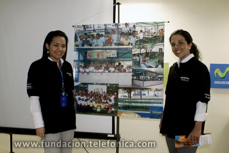 Voluntarios Telefónica beneficiaron a más de 2000 personas en Venezuela.