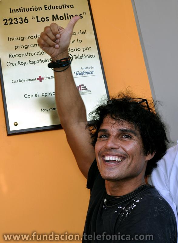 Pedro Suárez Vértiz, artista participante del Concierto Voces Solidarias.