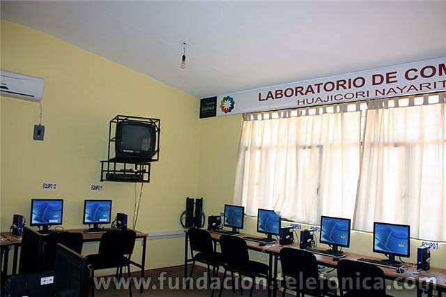 Inauguración de Aula EducaRed en Nayarit